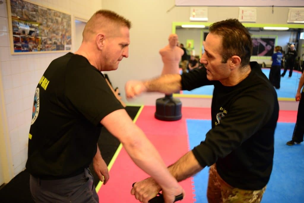 krav maga VIP security cursus