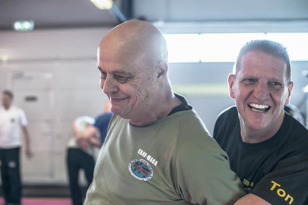gymnastiek en zelfverdediging voor ouderen