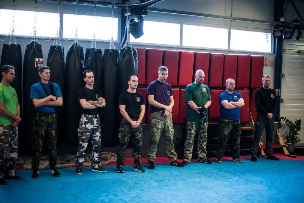 military camp krav maga